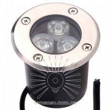 Грунтовый светильник RGB 3W 6500К LM12 Lemanso