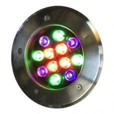 Грунтовый светильник RGB 12W LM999 Lemanso