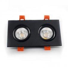 Светильник поворотный 2х5 Вт 4100к EH-CLM-04