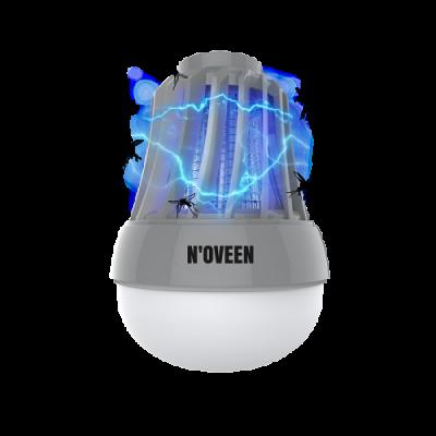 Портативная светодиодная лампа от насекомых для туризма и рыбалки Noveen IKN823 LED IPХ4