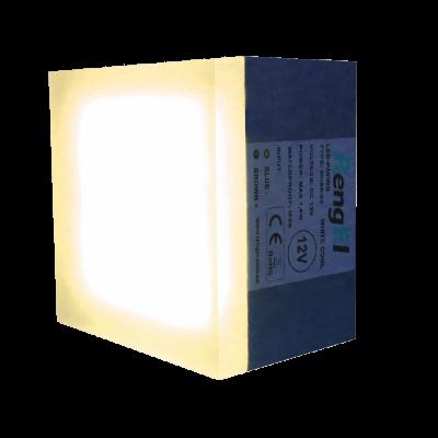 Светодиодная брусчатка 90х90х60мм 1,8 Вт, ІР68