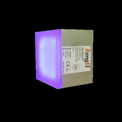 Светодиодная тротуарная плитка RGB 50х50х50мм 2,4Вт, ІР68