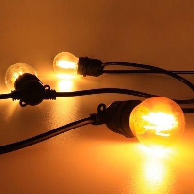 Гирлянда для светодиодных ламп с цоколем Е27 220в уличная