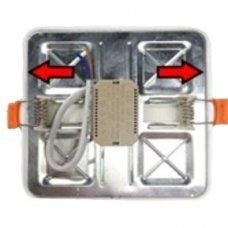 Встраиваемый светильник 18W квадратный BIOM