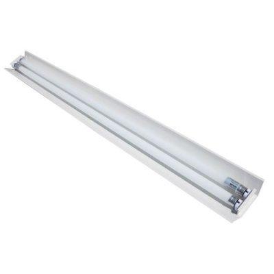 Светильник под светодиодную лампу g13 T8 2LED 1200 мм узкий