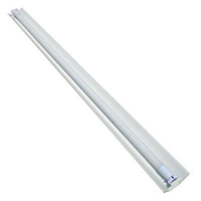 Светильник под лампу т8 1200мм 1LED узкий