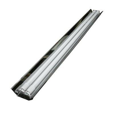 Светильник т8 120 см для 2 LED ламп с зеркальным отражателем