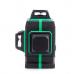 Лазерный нивелир (уровень), зеленый луч 12 линий, 360 градусов AFABEITA