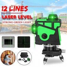 Лазерный нивелир Зеленый луч 12 линий AFABEITA
