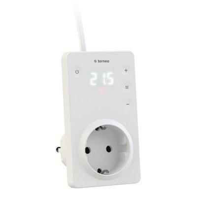 Терморегулятор в розетку для инфракрасных панелей и конвекторов terneo srz